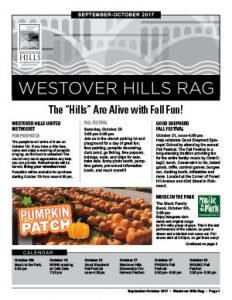 Westover Hills Rag - September/October