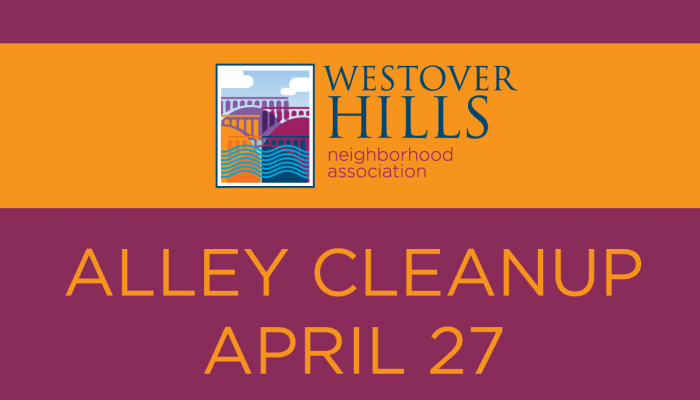 Alley Clean-up on Saturday!