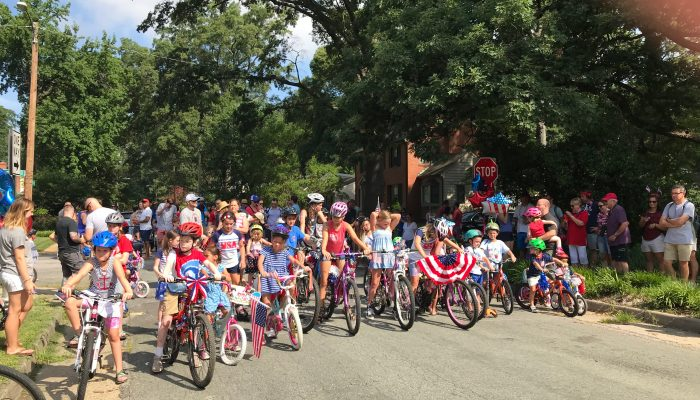 WHNA Fourth of July Children's Parade